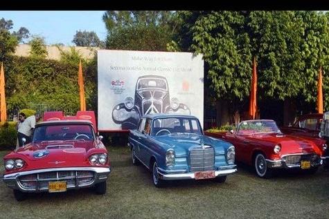 نمایشگاه خودروهای کلاسیک در هتل سرنای پاکستان