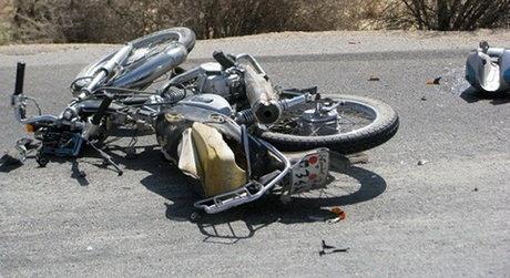 تصادف مرگبار تاکسی و موتورسیکلت در بزرگراه صیادشیرازی