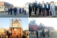 هیئت سرمایهگذار فرانسوی از شرکتهای شناورسازی بوشهر بازدید کردند