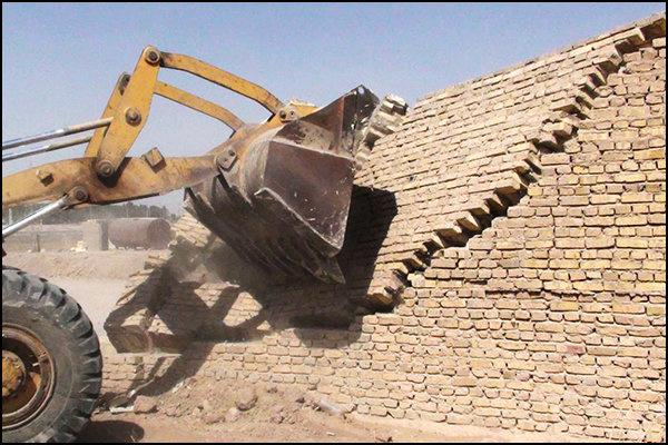 رفع تصرف سه قطعه زمین به متراژ ۴۲۸ مترازاراضی دولت