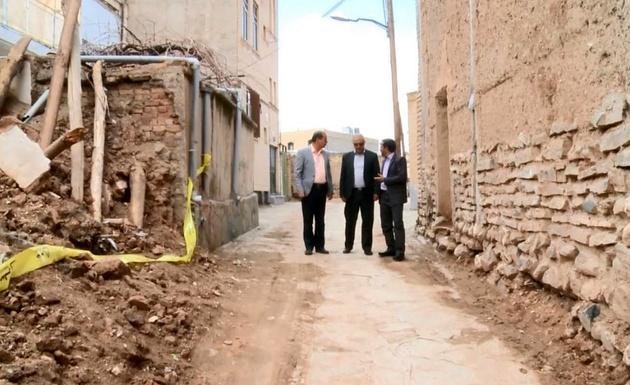 خسارت 55میلیاردی سیل به بناهای تاریخی نراق و دلیجان