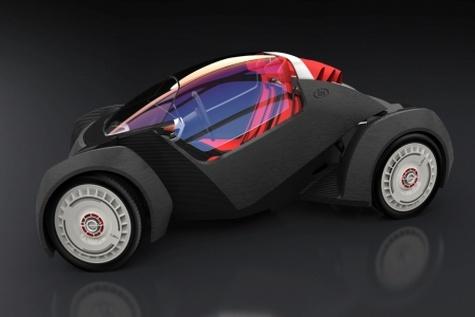 چاپ اولین خودروی خودران