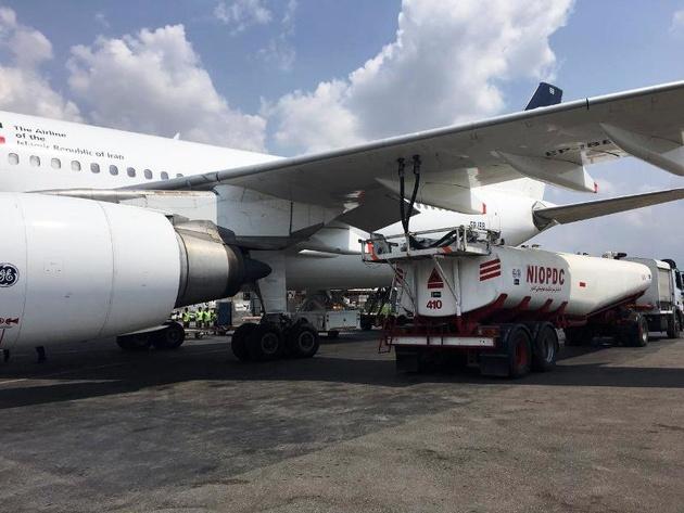 توافق با برخی کشورهای اروپایی برای دریافت سوخت هواپیما