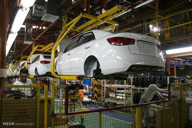 Car manufacturing rises over 20% in 4 months on year
