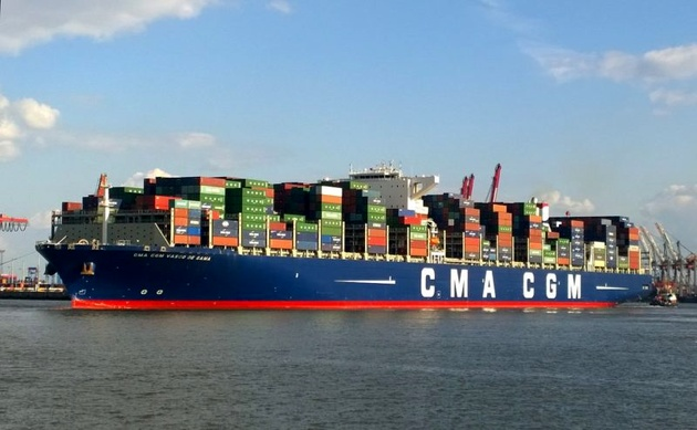 CMA CGM Stays in Red