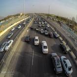 افزایش 12 درصدی تردد نوروزی خودروها