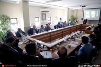 گزارش تصویری / برگزاری جلسه بررسی نحوه جانمایی ایستگاه راهآهن پرند با حضور مشاور وزیر راه و شهرسازی