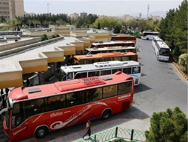 آغاز ضد عفونی اتوبوسها، ترمینالها و مجتمعهای بین راهی از امروز