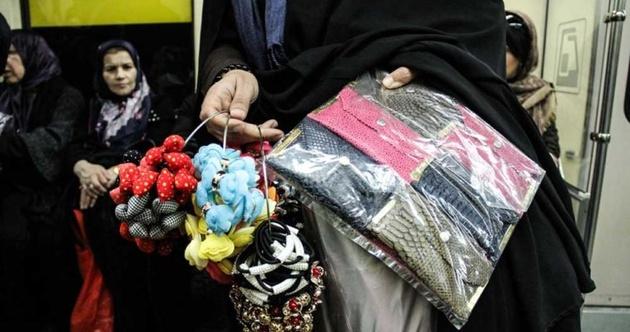 ساماندهی دستفروشان مترو در روزهای کرونایی با کمک مردم
