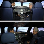 Iran unveils Airbus 320 flight simulator