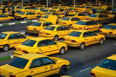 کار ضدعفونی به تاکسی ها رسید