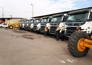 بهبود خدمترسانی راهداری قزوین با خرید هشت کامیون قدرتمند