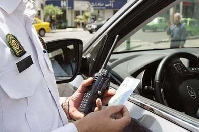جریمه ۴۰۰ خودروی ناقض محدودیتهای کرونایی