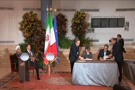 Iran, Italy sign up to $۱۸.۴bn contracts