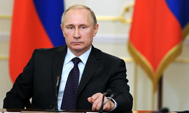 پوتین جانباختن مسافران هواپیمای اوکراینی را به روحانی تسلیت گفت