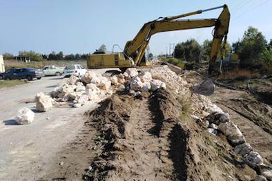 عملیات ساماندهی و بهسازی جاده دریا در حال انجام است