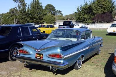 بازسازی زیبای خودروی مدل 1959