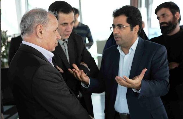 بازدید رئیس سازمان اداری و استخدامی از برج مراقبت مهرآباد