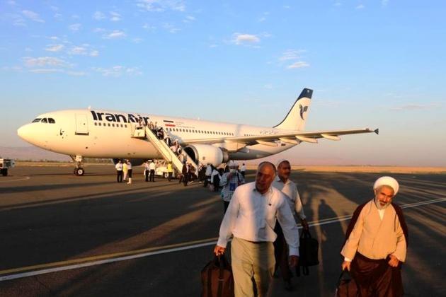 پرواز ۱۶۰۰ زائر زنجانی به سرزمین وحی