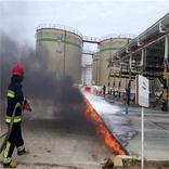 مانور عملیاتی اطفاء حریق در منطقه ویژه اقتصادی بندرامیرآباد برگزار گردید