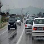 کندوان و هراز درگیر ترافیک سنگین است