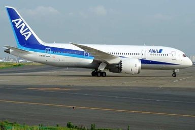Turbulence Injures Four on ANA Boeing 787 Flight