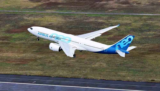 First Airbus A330-800 Takes to the Skies