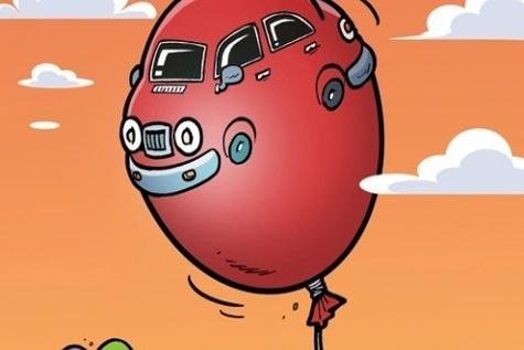 کاریکاتور / بازار خودرو باد کرد!