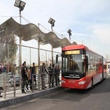۸۰ دستگاه اتوبوس خطوط بی آر تی تهران متوقف هستند