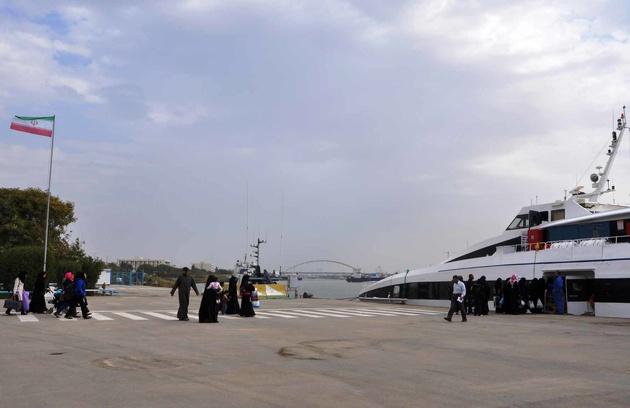 دلیل توقف فعالیت کشتیرانی خرمشهر-بصره