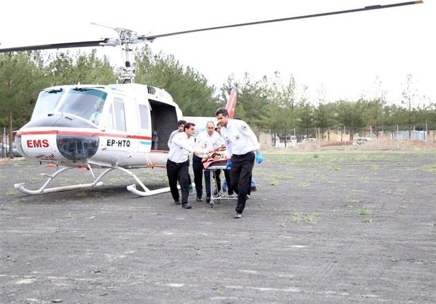 فوت مادر و مصدوم شدن دختر 9 ساله در سانحه رانندگی در محور «کلیبر-اهر»