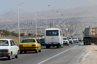 افزایش ۱۳ درصدی تردد وسایل نقلیه در محورهای استان خراسان شمالی