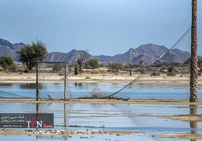 مناطق سیل زده دشتیاری چابهار
