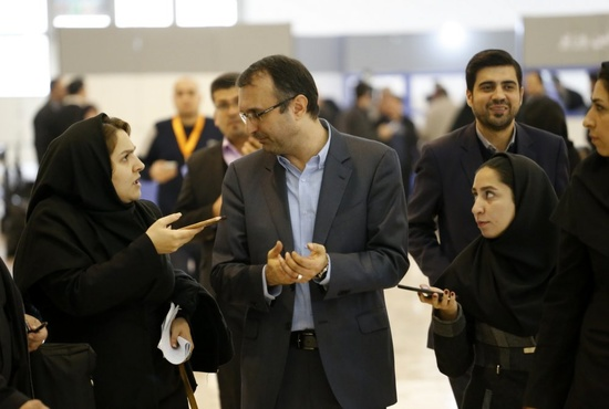 تصاویر| نشست خبری شهرام آدم نژاد؛ در حاشیه نمایشگاه حملونقل