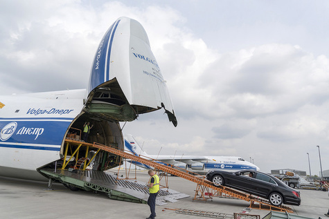 Volga-Dnepr 'racking' its brains to deliver 30 Mercs to Luanda