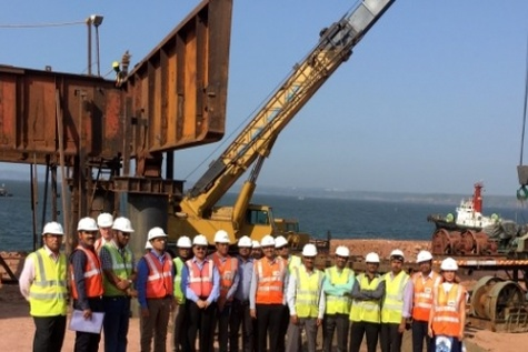 Jetty construction starts for LNG FSRU Project at Jaigarh Port