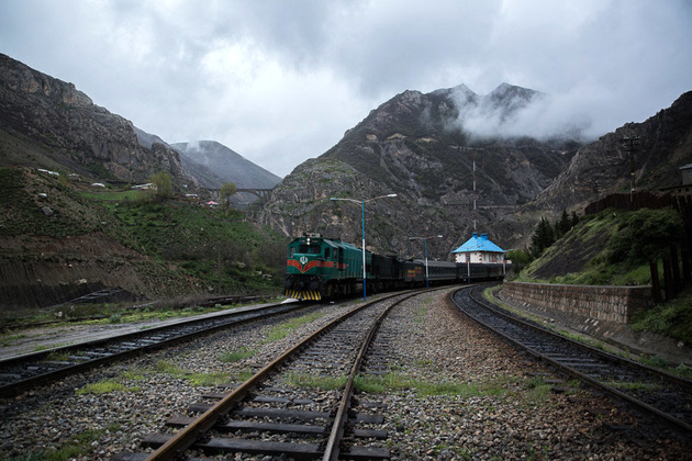 ایران ؛ شاهراه ترانزیت ریلی ؛ ظرفیت افزایش ده برابری