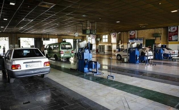 صف انتظار در مراکز معاینه فنی تهران وجود ندارد