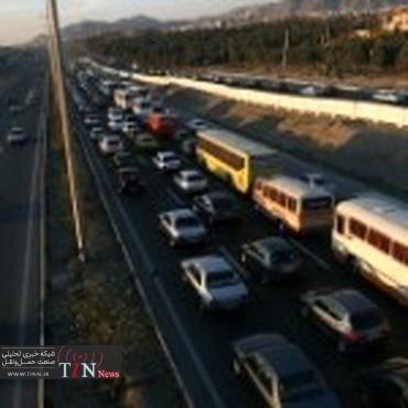 تردد روزانه ۹۶۰۰ خودرو در جادههای سمنان