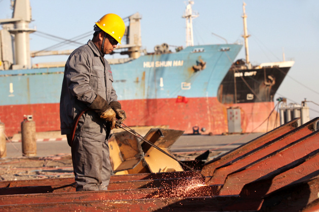 China to ban imports of waste foreign vessels for ship recycling