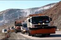 ذخیره سازی بیش از 15 هزار تن شن و نمک برای زمستان