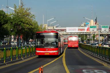 اقدامات انجام گرفته در شرکت اتوبوسرانی تهران +عکس