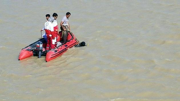 جسد 2جوان غرق شده در رودخانه سیستان پیدا شد