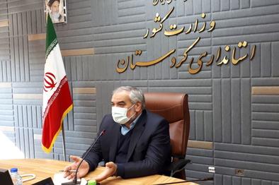 استاندار: ۴۰ کیلومتر از کریدور شمال - جنوب در کردستان زیر بار میرود