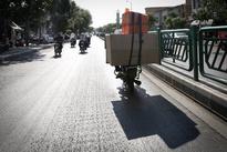 حادثه دلخراش برای یک راکب موتورسیکلت