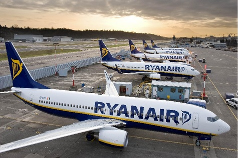 Ryanair Pilots to Cost Carrier an Extra €100m Per Annum