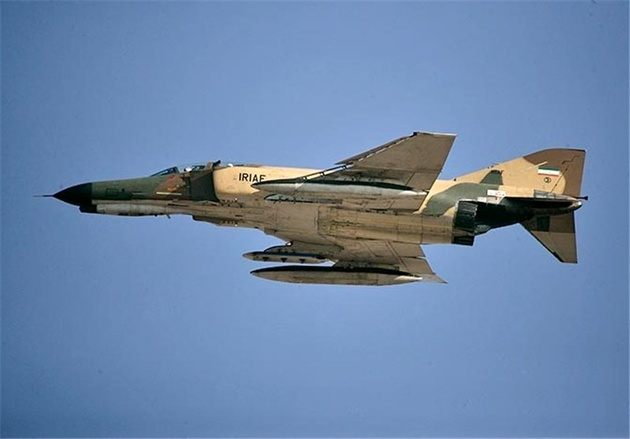 Training Jet Crashes in SE Iran
