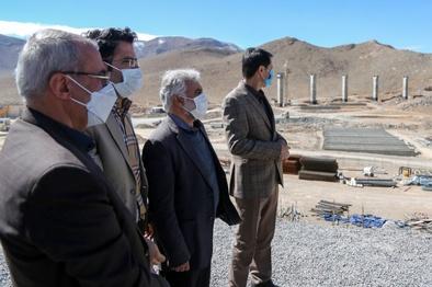 زیرسازی ۴۵ کیلومتر از راهآهن مبارکه به شهرکرد اجرا شد