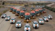 ۱۵۰۰ نیروی امدادی در آماده باش کامل، سوخت رسانی سیار در راه ها
