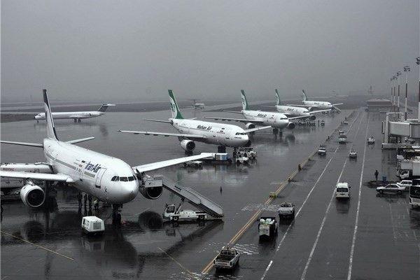 پروازهای عبوری از آسمان ایران در بهار دو برابر شد